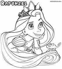 rapunzel face coloring pages rapunzel coloring sheets tangled