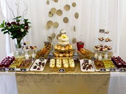 wedding anniversary backdrop bliss carousel dessert buffets and event styling