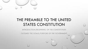 the preamble to the united states constitution ppt video online