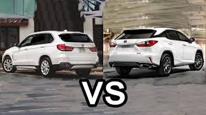 compare lexus vs bmw 2016 lexus rx 350 f sport vs 2016 bmw x5 design youtube