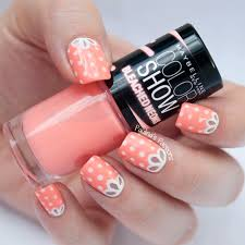 nailpolis museum of nail art girly nails with a cute lace by