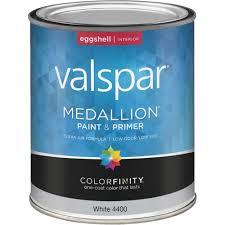 valspar medallion 100 acrylic paint u0026 primer eggshell interior