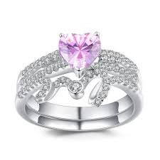 925 sterling silver v shaped heart promise ring size 5 6 7 8 9 10 heart cut amethyst 925 sterling silver promise rings for