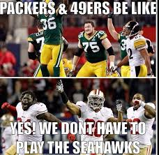 Packers 49ers Meme - an instagram page full of seahawks memes posted this this is a