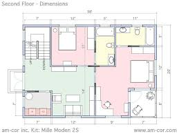Home Floor Plans With Furniture Home Architecture Floor Plans For Furniture Dimensions House Deck