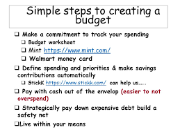 finance 101 u0026 creative ways to save and budget your money ppt