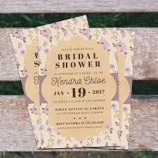 vintage bridal shower invitations vintage bridal shower invitation by iamwulano graphicriver