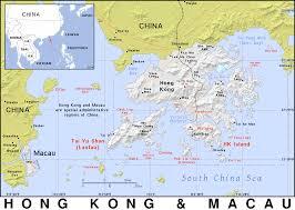 Macau China Map by Hk Hong Kong And Macau Public Domain Maps By Pat The Free