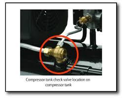 tank check valve