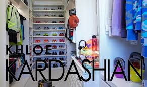 celebrity closets with lisa adams khloe kardashian workout