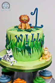 jungle themed birthday cake gainesville fl bearkery bakery