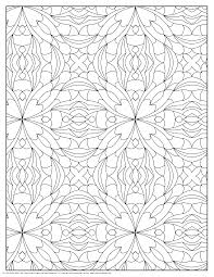 100 geometric patterns coloring pages free coloring pages
