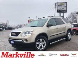 gmc acadia check engine light 2011 gmc acadia sle new tires gm certified pre owned at 12488 for