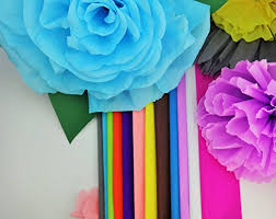 where can i buy crepe paper hot crepe paper 12 different colors flower projects