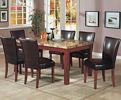 marble top dining room table sets home decorating interior
