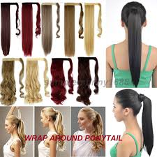 Cheap Thick Clip In Hair Extensions by Online Get Cheap Thick Pony Tail Hair Extensions Aliexpress Com