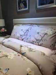 Full Size Duvet Covers Aliexpress Com Buy Bird Print Bedding Set Sheets Duvet Cover Bed