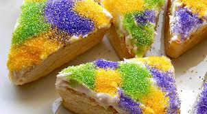 king cake for mardi gras mardi gras king cake scones frugal hausfrau