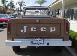 jeep gladiator 1975 1973 jeep gladiator j 4000