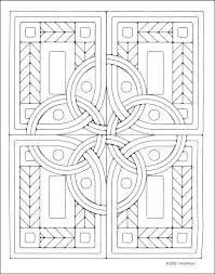 celtic mosaics coloring book additional photo