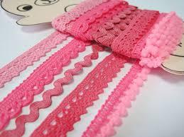 lace ribbon wholesale 5 yards pink trim trim lot lace trim cotton lace trim pom
