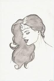 wonder woman head drawing by carstenbiernat on deviantart