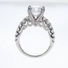 asscher cut diamond engagement rings sculptural inspired asscher cut diamond engagement ring semi
