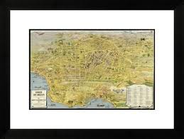 california map framed 47 best maps images on los angeles cards and maps