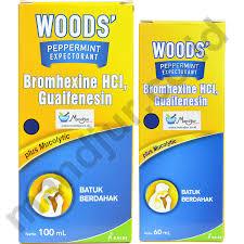 Obat Woods peppermint expectorant