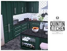 how to make a corner kitchen cabinet sims 4 simsational designs quintin kitchen stylish modern design