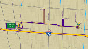 New Orleans Parade Routes Map by Krewe Of Excalibur Parade Route Mobile Version Wwltv Com