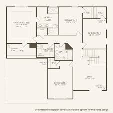 Westfield Floor Plan by Riverton At Maple Knoll In Westfield Indiana Pulte