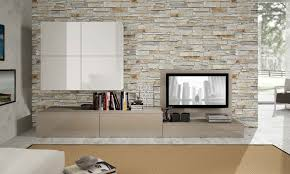 Bedroom Tv Cabinet Design Ideas Bedroom Stacked Stone Tile Accent Wals With Bedroom Tv Unit