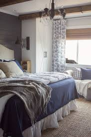 Blue Rustic Bedroom