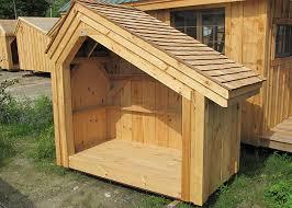 outdoor firewood storage firewood storage shed plans