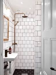 How To Whiten Bathroom Tiles How To Pull Off This Easy To Clean U0026 Affordable Trend Square