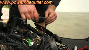 scooter 101 starter relay and spark plug wire youtube