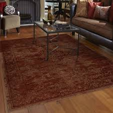Brown And Orange Home Decor Decorating Remarkable Stunning Brown Area Rugs At Walmart For