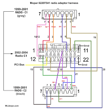 jeep grand cherokee wj stereo system wiring diagrams beautiful