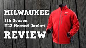2014 5th Season Milwaukee M12 Heated Jacket Review Youtube