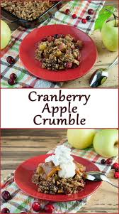 thanksgiving cranberry gluten free cranberry apple crumble seasoned sprinkles seasoned