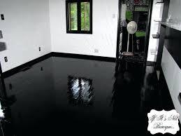 high gloss black vinyl flooring flooring designs