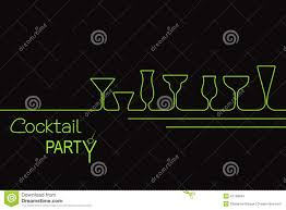 cocktail party design stock vector image 47199841 boston