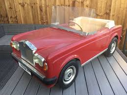 rolls royce vintage convertible vintage rolls royce pedal car in brampton cambridgeshire gumtree