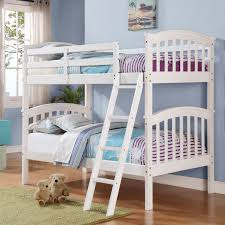 Bunk Beds With Trundle Atlantic Furniture Richland Twin Over Twin Bunk Bed Hayneedle