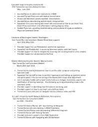 Phlebotomist Sample Resume by Phlebotomy Duties Resume Contegri Com