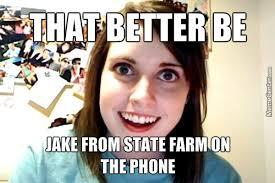 Jake State Farm Meme - it s jake jake from state farm by orangeyouglad meme center