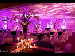 purple decorations purple weddings decorations