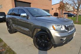 charcoal black jeep 2011 used jeep grand cherokee overland at zone motors serving