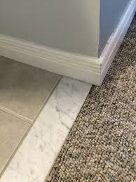 How Do I Remove This Marble Threshold Tiling Ceramics Marble - Bathroom door threshold 2